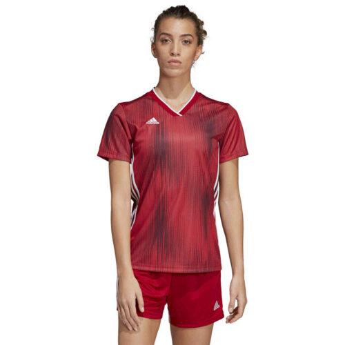 Womens adidas Tiro 19 Jersey – Power Red