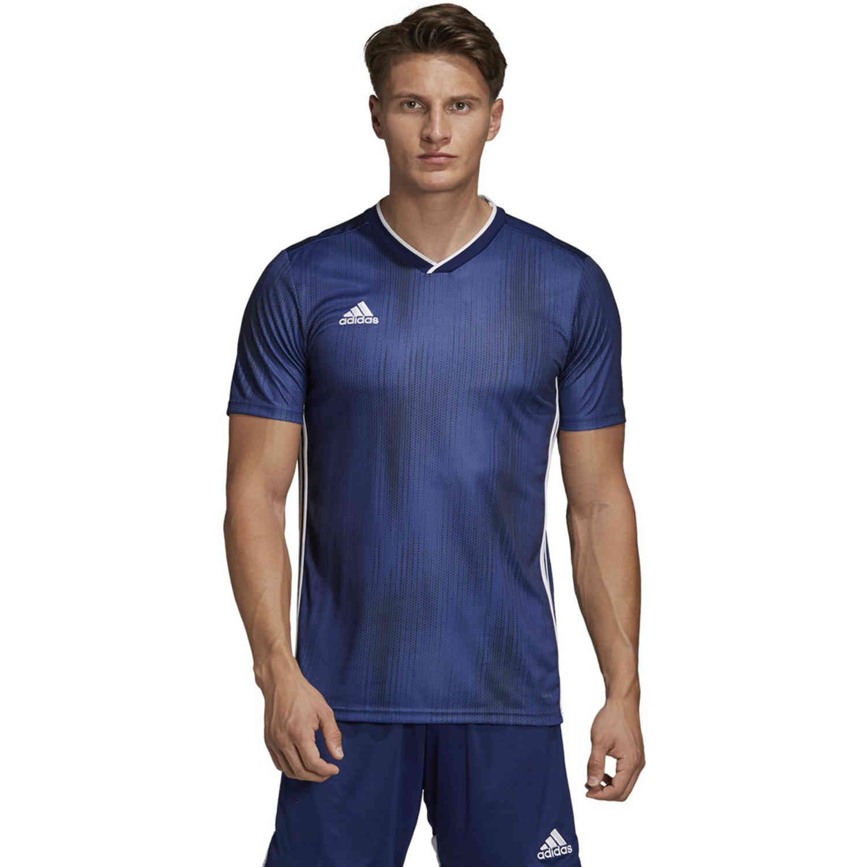 adidas Tiro 19 Jersey - Dark Blue - SoccerPro