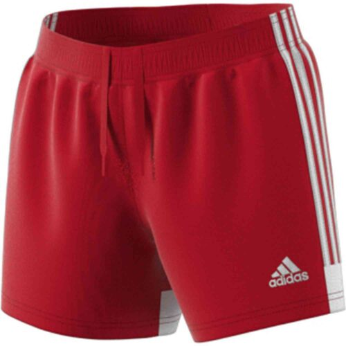 Womens adidas Tastigo 19 Shorts – Power Red