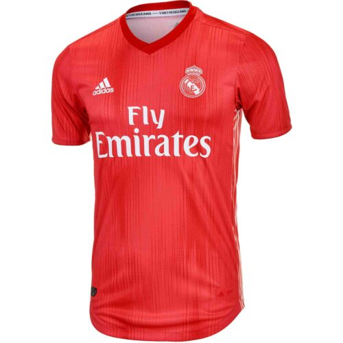 adidas Real Madrid 3rd Authentic Jersey 2018-19