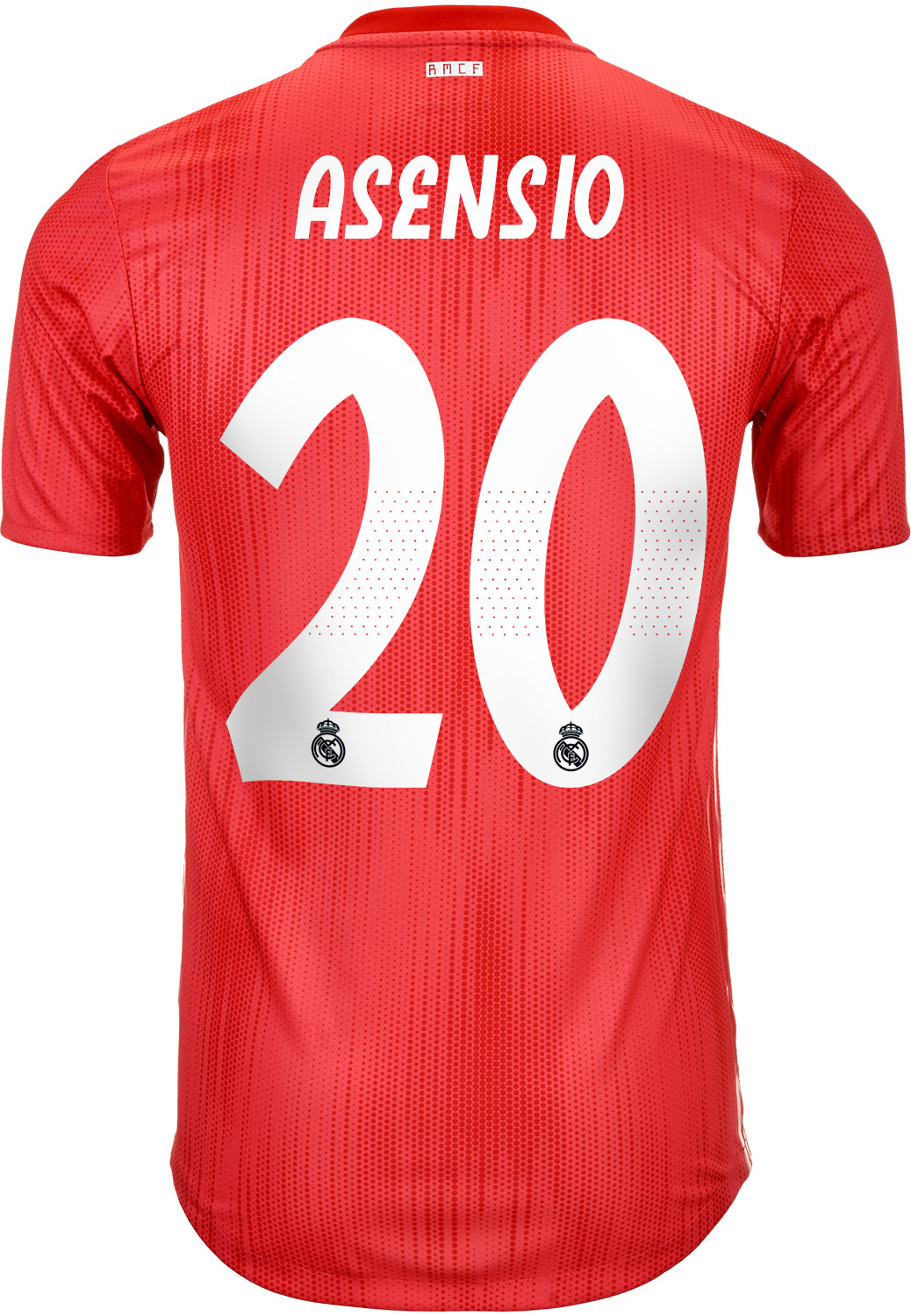 34fb84a5b00 2018 19 adidas Marco Asensio Real Madrid Authentic 3rd Jersey ...
