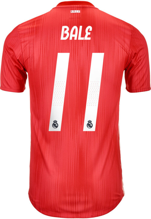 2018/19 adidas Gareth Bale Real Madrid Authentic 3rd Jersey