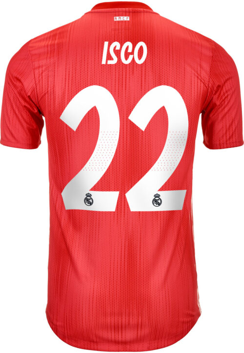 2018/19 adidas Isco Real Madrid Authentic 3rd Jersey