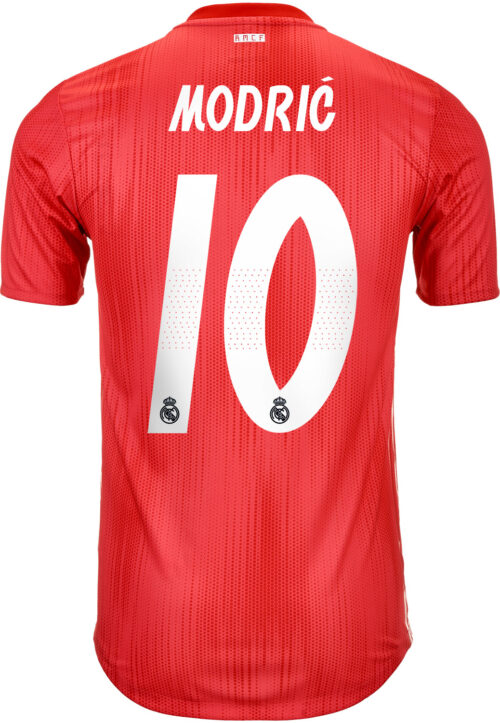 2018/19 adidas Luka Modric Real Madrid Authentic 3rd Jersey
