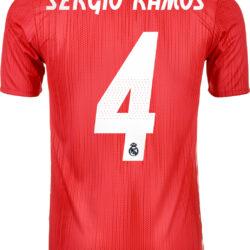 0fb626a5 2018/19 adidas Sergio Ramos Real Madrid Authentic 3rd Jersey - SoccerPro