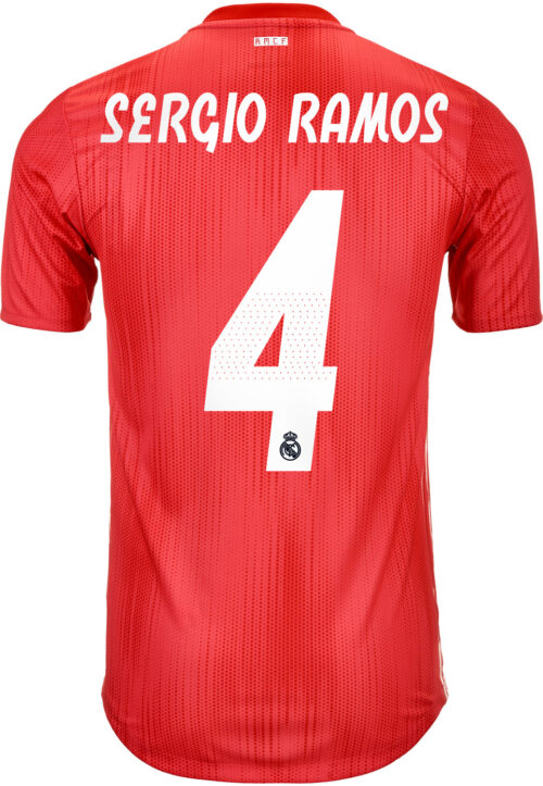 2018/19 adidas Sergio Ramos Real Madrid Authentic 3rd Jersey