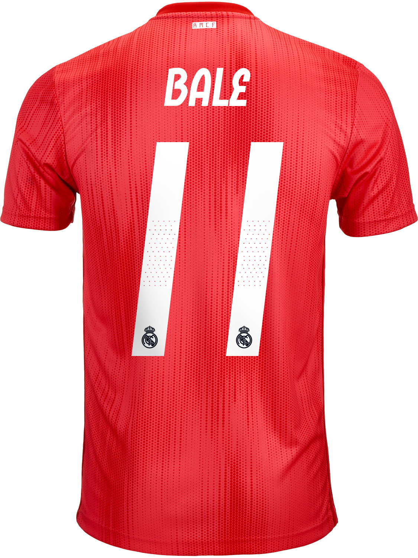 feb834e9f 2018 19 adidas Gareth Bale Real Madrid 3rd Jersey - SoccerPro