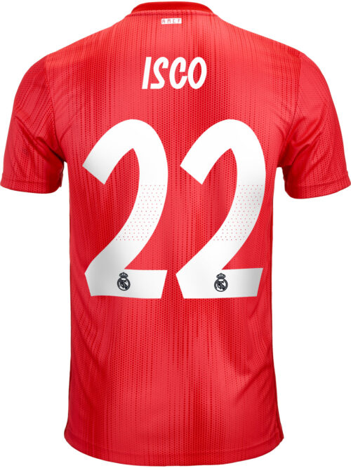 2018/19 adidas Isco Real Madrid 3rd Jersey