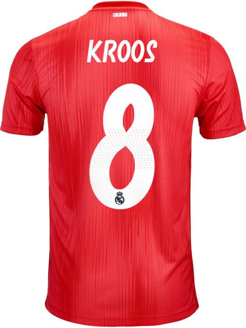 2018/19 adidas Toni Kroos Real Madrid 3rd Jersey