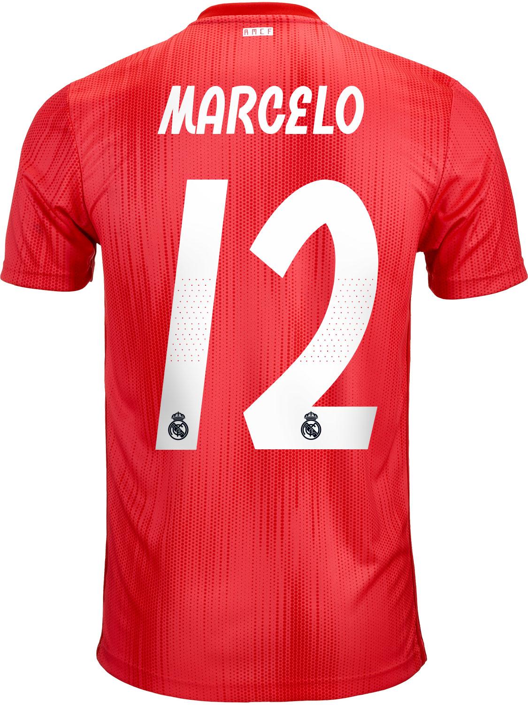 1225393d8593 2018 19 adidas Marcelo Real Madrid 3rd Jersey - SoccerPro