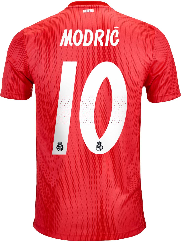 check out 80a69 5d072 2018/19 adidas Luka Modric Real Madrid 3rd Jersey - SoccerPro