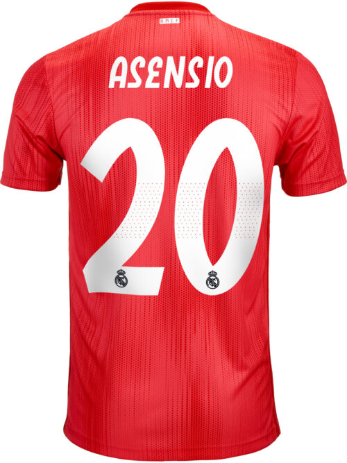 2018/19 adidas Kids Marco Asensio Real Madrid 3rd Jersey