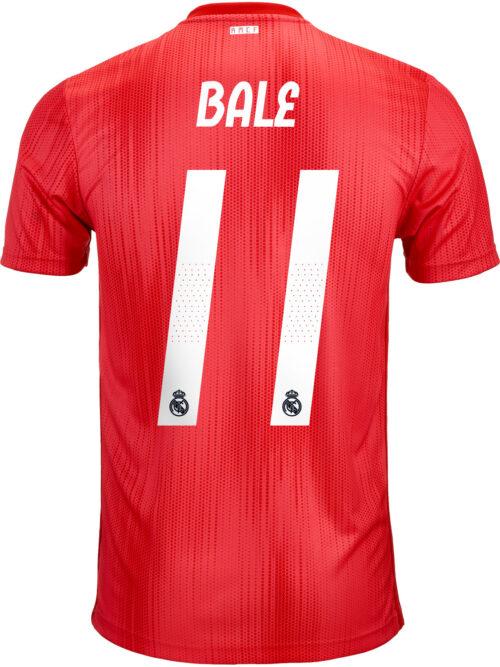 2018/19 adidas Kids Gareth Bale Real Madrid 3rd Jersey