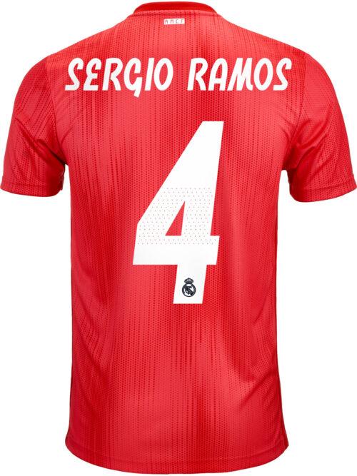 2018/19 adidas Kids Sergio Ramos Real Madrid 3rd Jersey