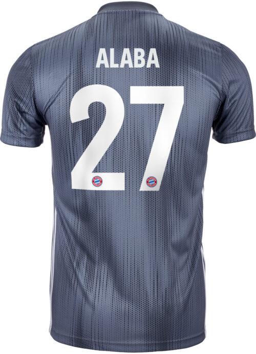 2018/19 adidas David Alaba Bayern Munich 3rd Jersey