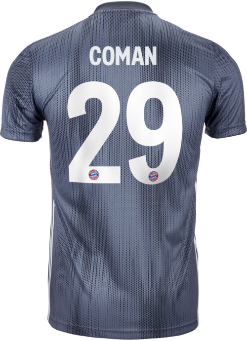 2018/19 adidas Kingsley Coman Bayern Munich 3rd Jersey