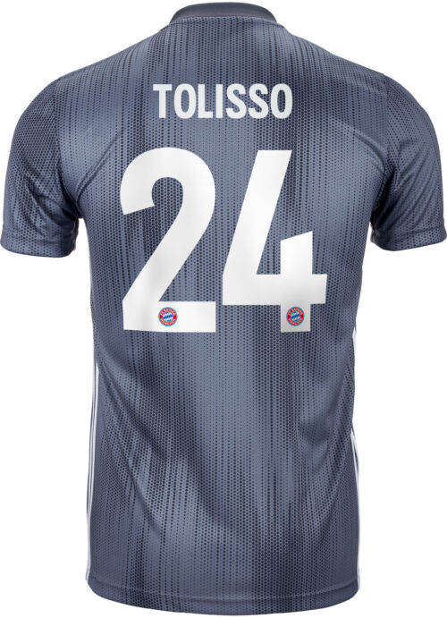 2018/19 adidas Corentin Tolisso Bayern Munich 3rd Jersey