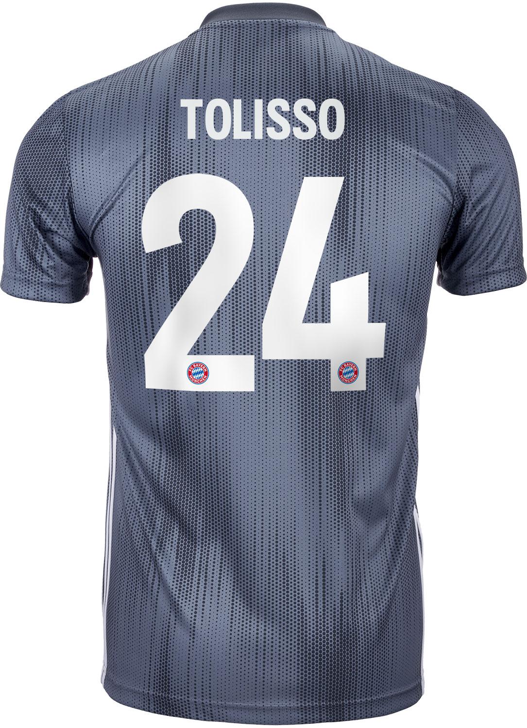 Maglia Home FC Bayern München Corentin Tolisso