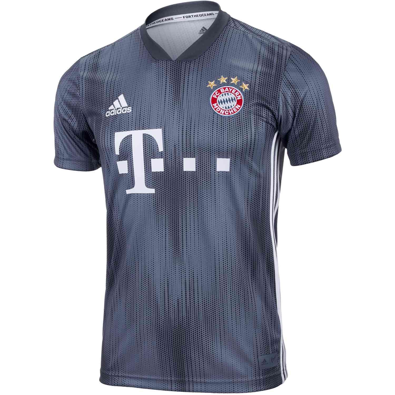 b299f8b5 adidas Bayern Munich 3rd Jersey - Youth 2018-19 - SoccerPro