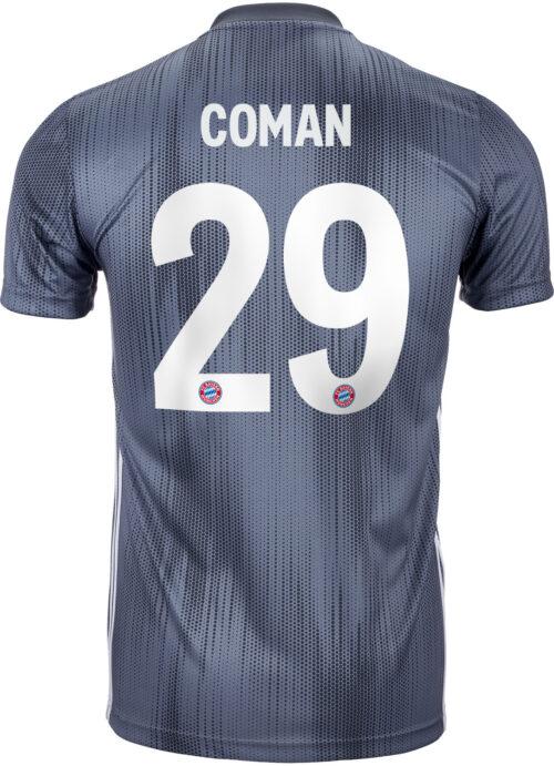2018/19 Kids adidas Kingsley Coman Bayern Munich 3rd Jersey