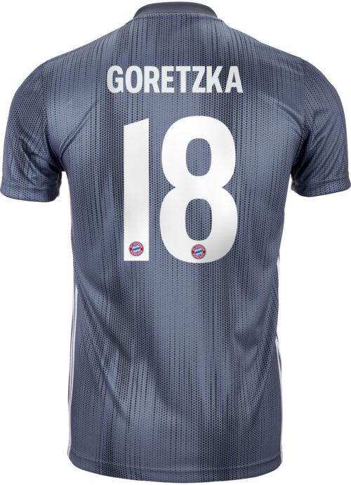 2018/19 Kids adidas Leon Goretzka Bayern Munich 3rd Jersey
