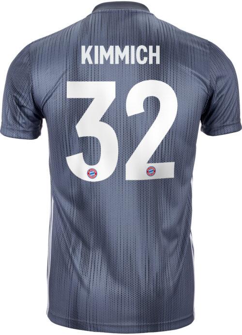 2018/19 Kids adidas Johsua Kimmich Bayern Munich 3rd Jersey