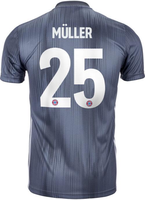2018/19 Kids adidas Thomas Muller Bayern Munich 3rd Jersey