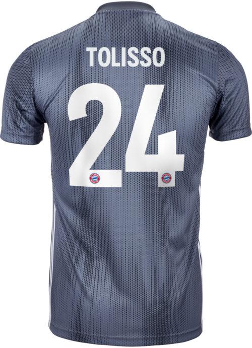 2018/19 Kids adidas Corentin Tolisso Bayern Munich 3rd Jersey