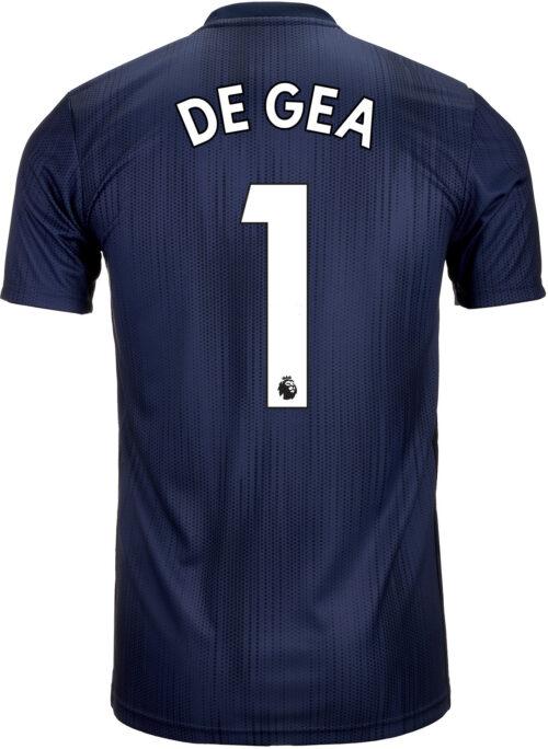 2018/19 Kids adidas David De Gea Manchester United 3rd Jersey