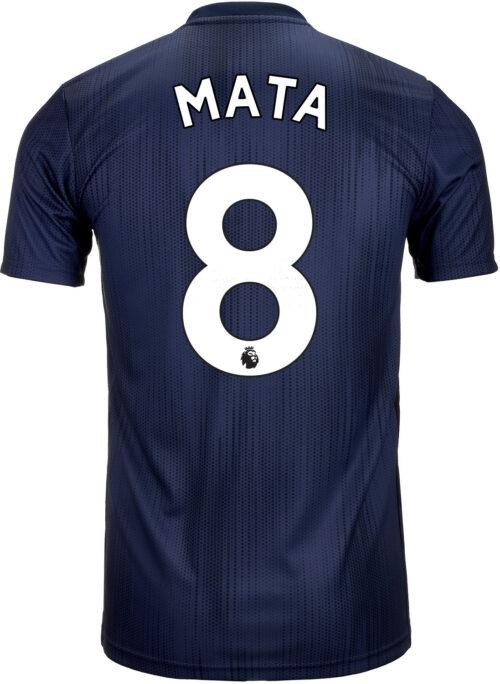 2018/19 Kids adidas Juan Mata Manchester United 3rd Jersey