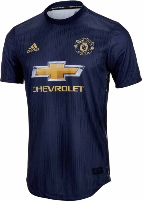 22c34bd95d7 adidas Manchester United 3rd Authentic Jersey 2018-19