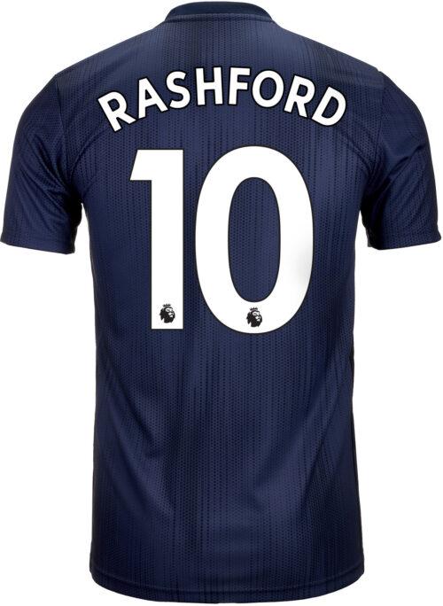 adidas Marcus Rashford Manchester United 3rd Jersey 2018-19