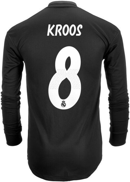 2018/19 adidas Toni Kroos Real Madrid Authentic L/S Away Jersey