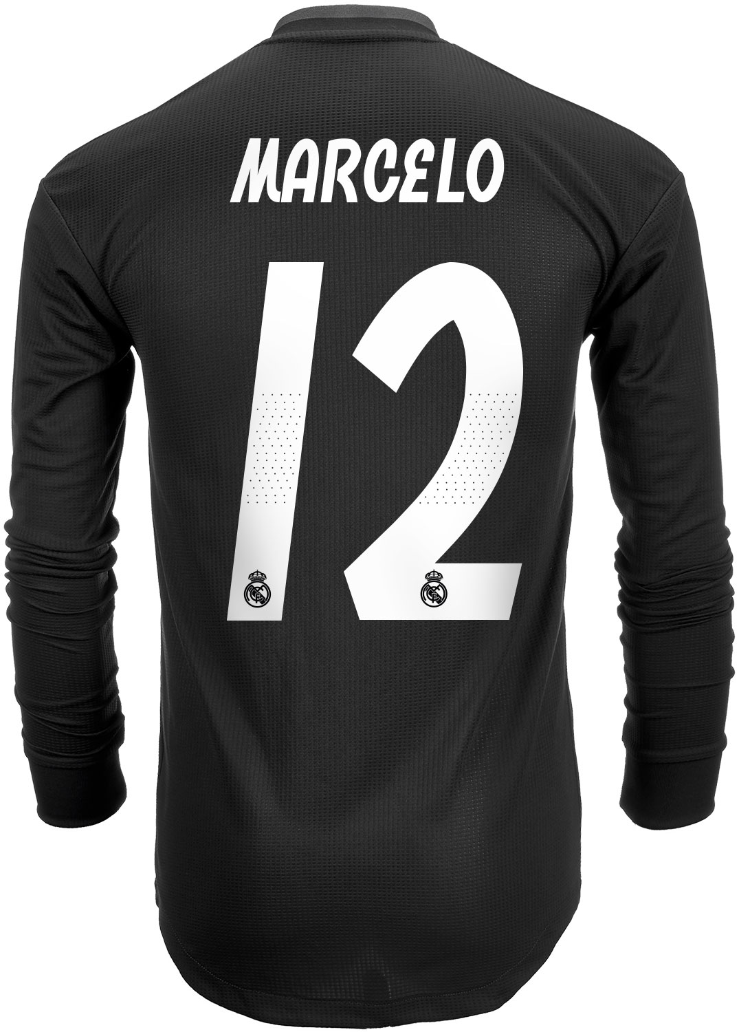 168dee59e 2018 19 adidas Marcelo Real Madrid Authentic L S Away Jersey - SoccerPro
