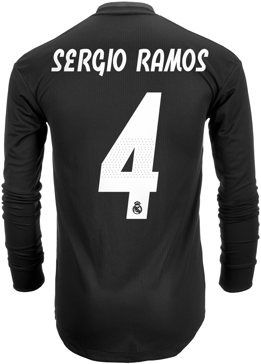 sneakers for cheap 51e30 b11a5 2018/19 adidas Sergio Ramos Real Madrid Authentic L/S Away ...