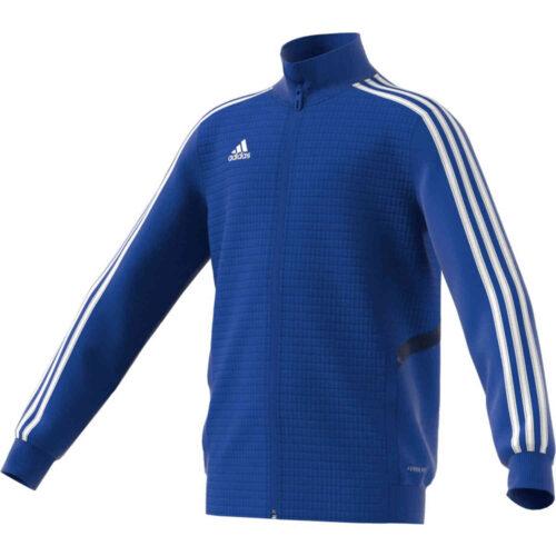 Kids adidas Tiro 19 Training Jacket – Bold Blue