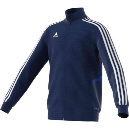 Kids adidas Tiro 19 Training Jacket – Dark Blue