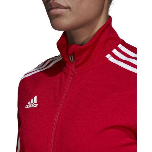 Womens adidas Tiro 19 Training Jacket – Power Red