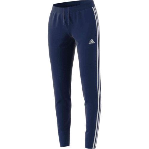 Womens adidas Tiro 19 Training Pants – Dark Blue