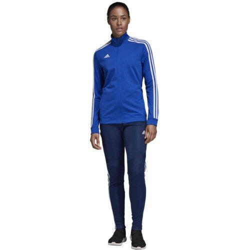 Womens adidas Tiro 19 Training Jacket – Bold Blue