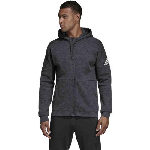 adidas Stadium Lifestyle Full-zip Hoodie – Black/Grey/Six