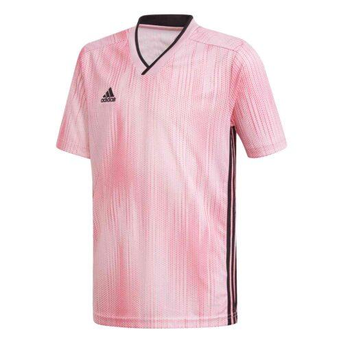 Kids adidas Tiro 19 Jersey – True Pink/Black