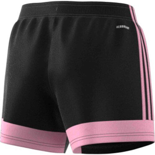 Womens adidas Tastigo 19 Shorts – Black/True Pink