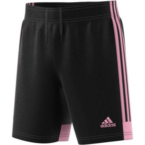 Kids adidas Tastigo 19 Shorts – Black/True Pink