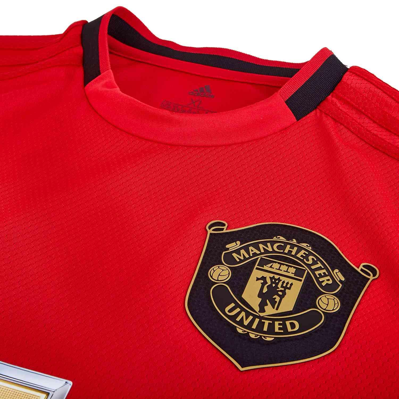 2019 20 Kids Adidas Manchester United Home Jersey Soccerpro