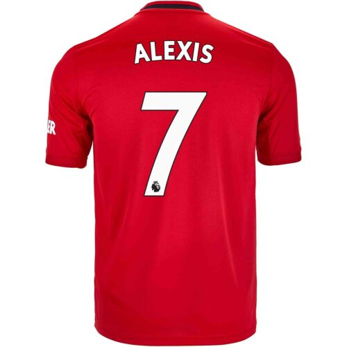 2019/20 Kids adidas Alexis Sanchez Manchester United Home Jersey