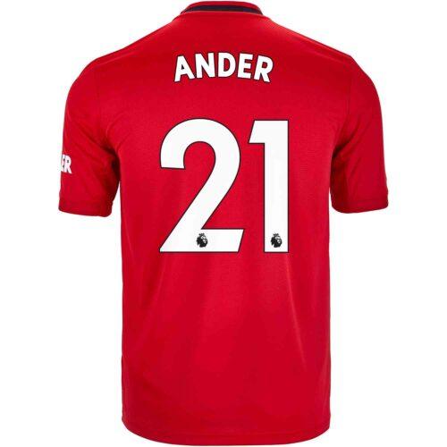 2019/20 Kids adidas Ander Herrera Manchester United Home Jersey