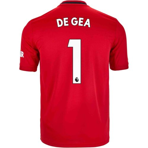 2019/20 Kids adidas David de Gea Manchester United Home Jersey