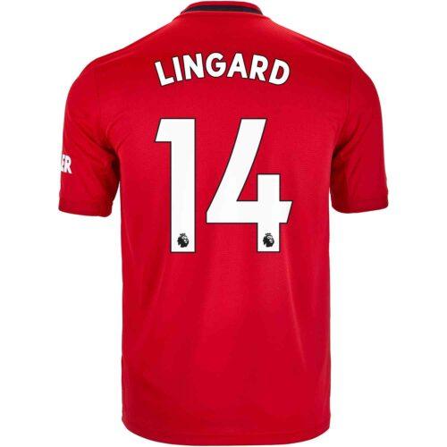 2019/20 Kids adidas Jesse Lingard Manchester United Home Jersey