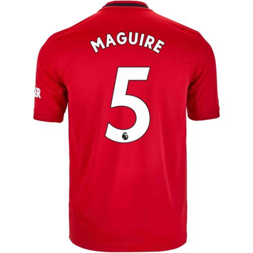 2019/20 Kids adidas Harry Maguire Manchester United Home Jersey
